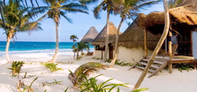 La Zebra Beach Cantina Cabanas Is Green Save Eco