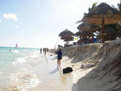 beach erosion in MX